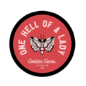 Golden Gems - GOG One Hell of a Lady Sticker