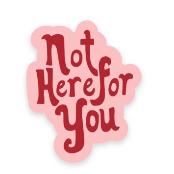 Golden Gems - GOG Not Here for You Sticker