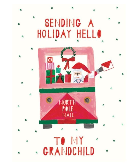 Mr. Boddington's Studio - MB Santa's Mail Truck Holiday Hello Card