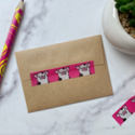 Kiss and Punch - KP Cute Pig Washi Tape
