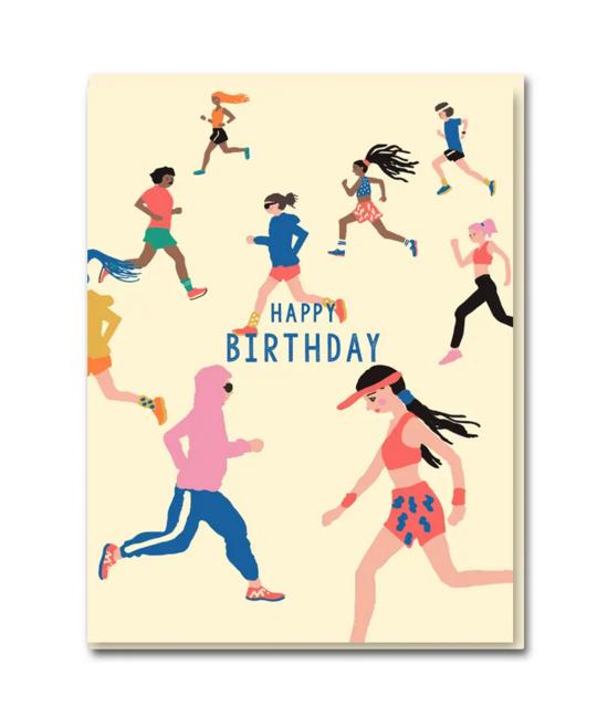 1973, Ltd. Park Run Birthday Card