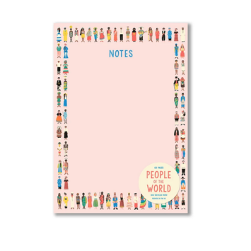 1973, Ltd. People of the World Notepad