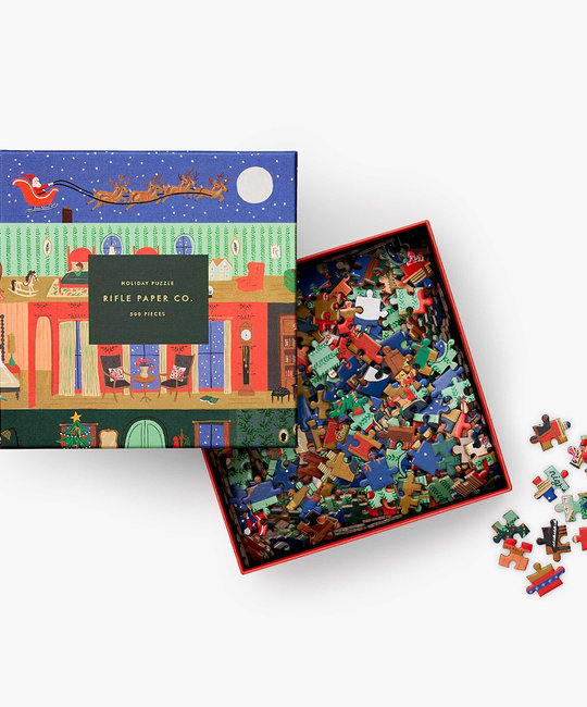 Rifle Paper Co - RP Rifle Paper Co - Night Before Christmas Jigsaw Puzzle