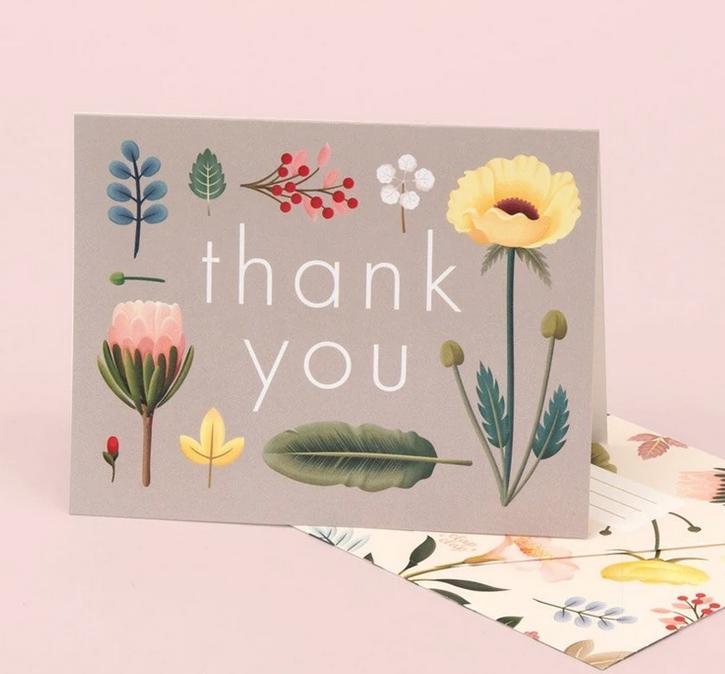 Clap Clap - CC Spring Bloom Thank You Card