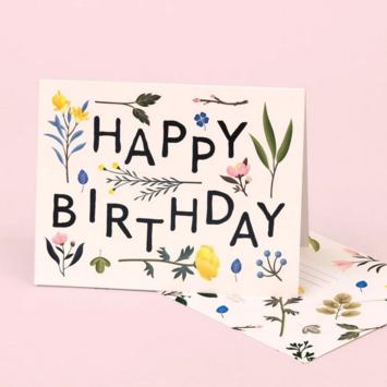Clap Clap - CC Plant Variety Ivory Birthday Card