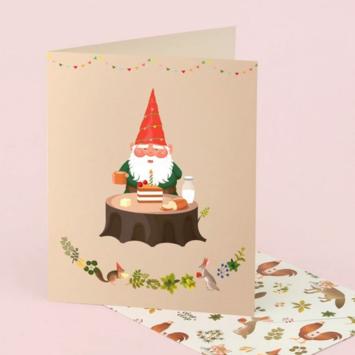 Clap Clap - CC Gnome Birthday Card