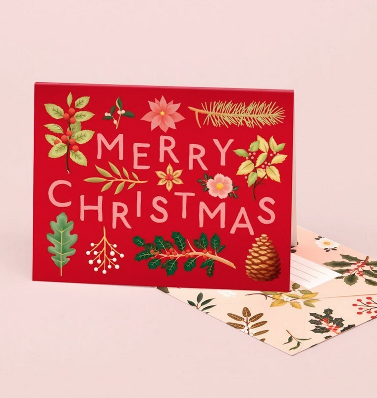 Clap Clap - CC Holiday Plants Merry Christmas Card