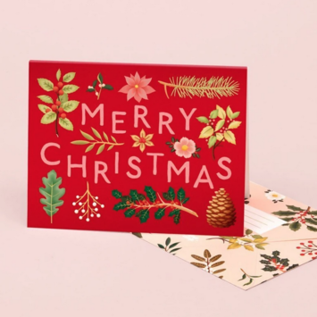 Clap Clap - CC Holiday Plants Merry Christmas Notes, Set of 8