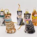 Cody Foster - COF Kitten  (Cat) Assorted Glass Ornament