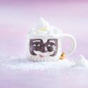 One Hundred 80 Degrees - 180 Black Santa Mug (Papa Noel)