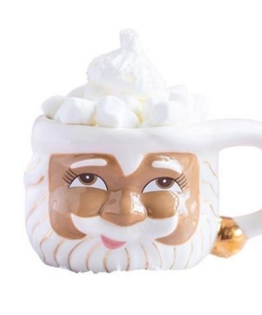 One Hundred 80 Degrees - 180 Brown Santa Mug (Papa Noel)