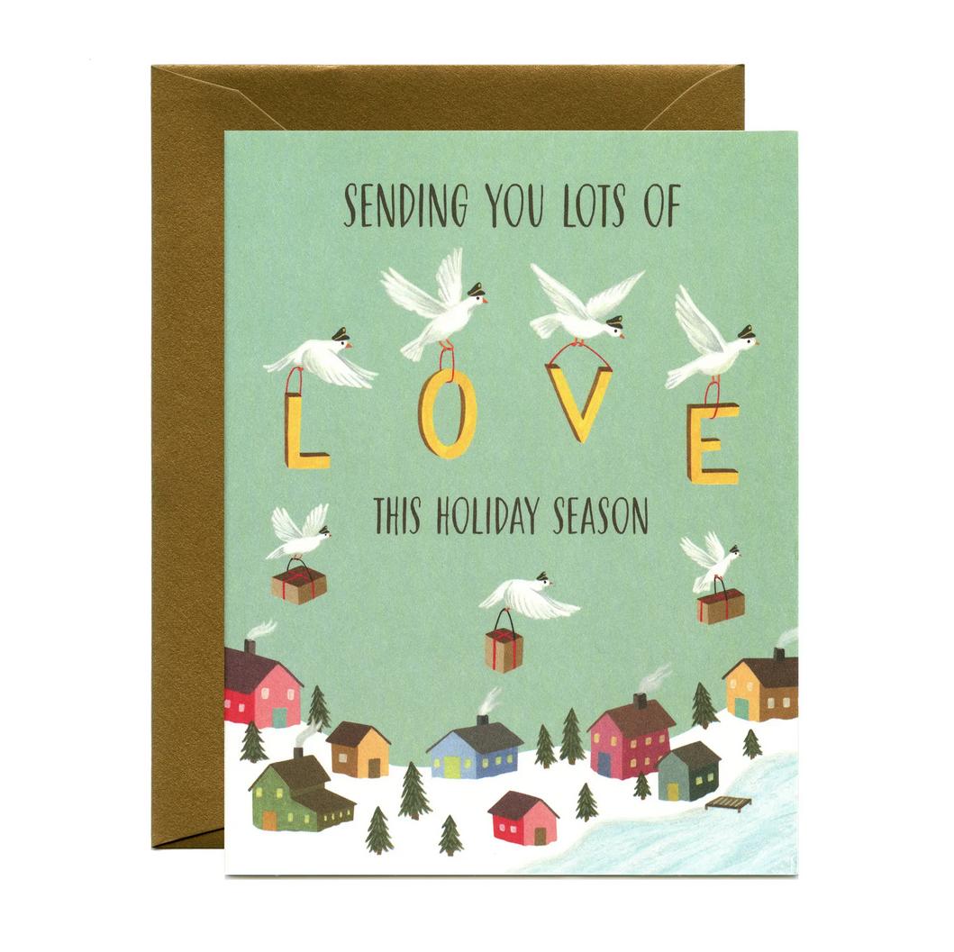 Yeppie Paper - YP Sending Holiday Love Card