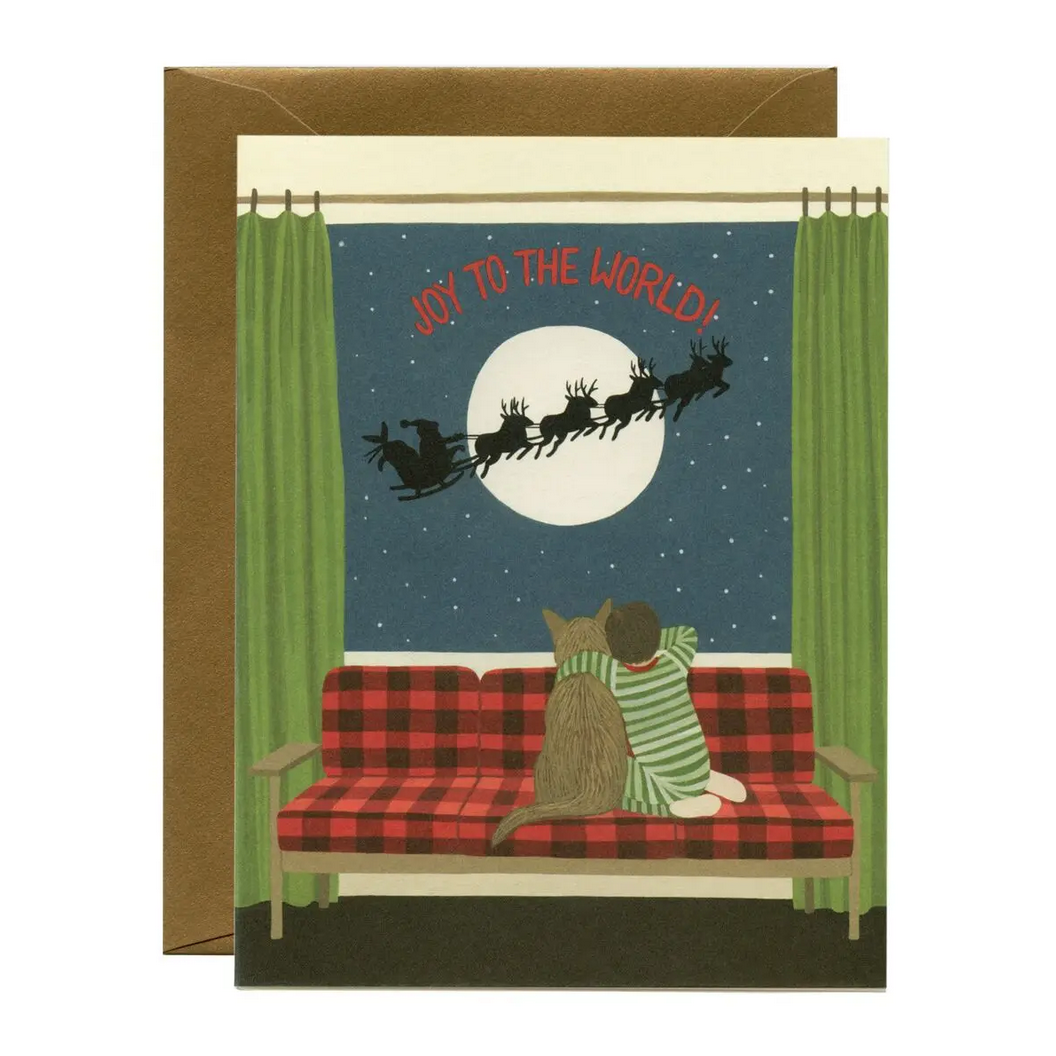Yeppie Paper - YP Joy to the World Holiday Card