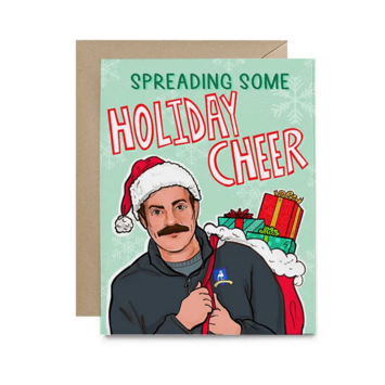 Hello Harlot - HH Ted Lasso Holiday Card