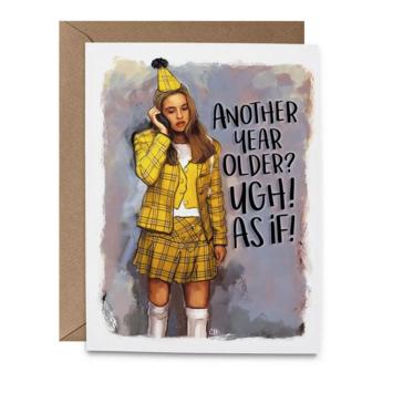 Hello Harlot - HH As If Clueless Birthday Card
