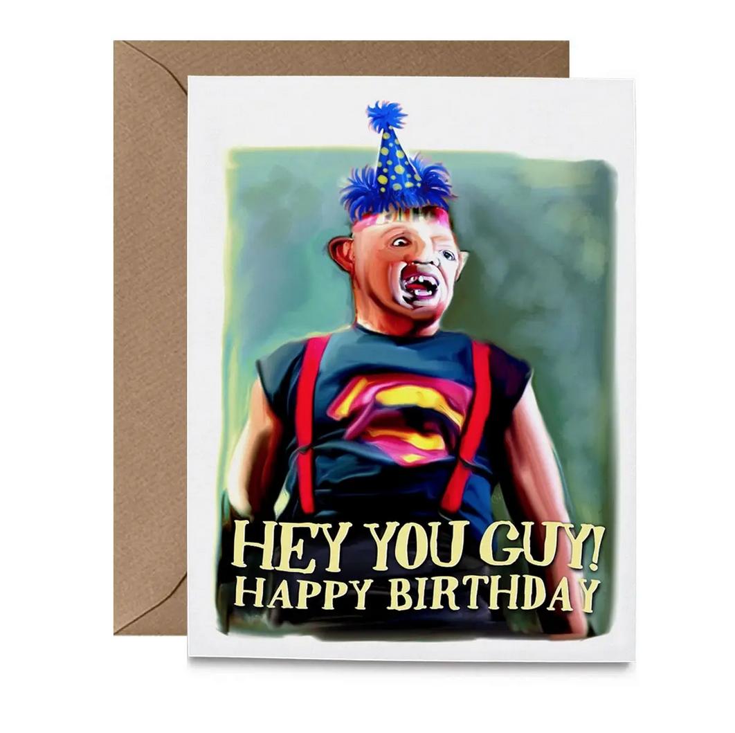 Hello Harlot - HH Sloth Birthday Card