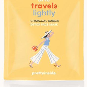 Prettyinside She Travels Lightly Charcoal Face Mask