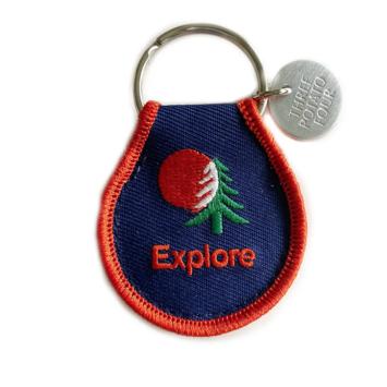 3 potato 4 - 3P4 Explore Patch Keychain