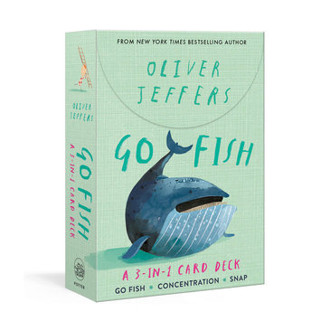 Penguin Random House - PRH Go Fish: A 3-in-1 Card Deck: Card Games Include Go Fish, Concentration, and Snap