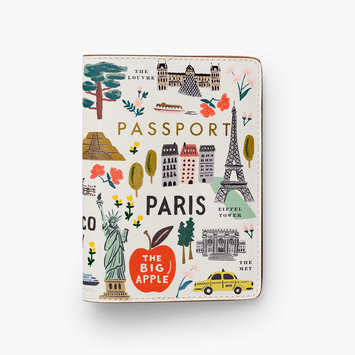 Rifle Paper Co - RP Rifle Paper Co - Bon Voyage Passport Holder