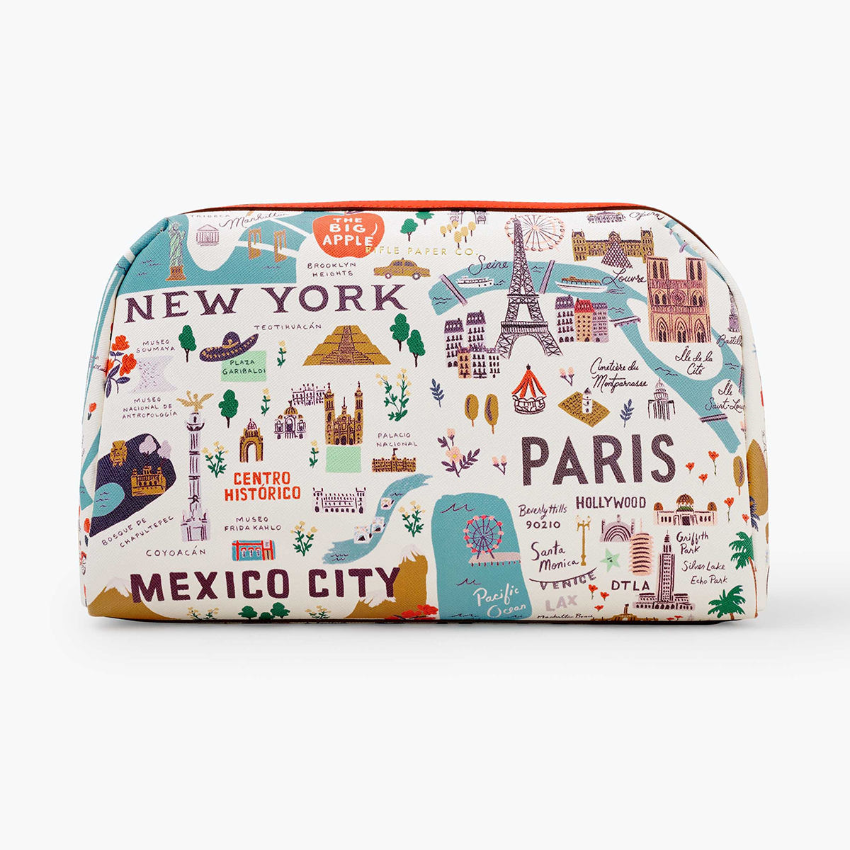 Rifle Paper Co - RP Rifle Paper Co - Bon Voyage Large Cosmetic Pouch