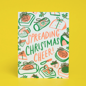 Hello!Lucky - HL Holiday Cheeses Card