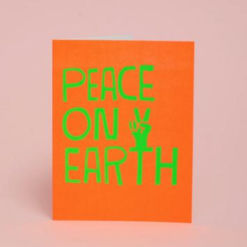 Ashkahn - AS Peace On Earth Holiday Card