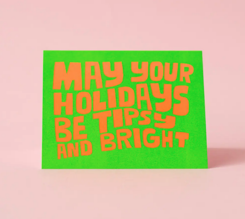 Ashkahn - AS Tipsy and Bright Holiday Card