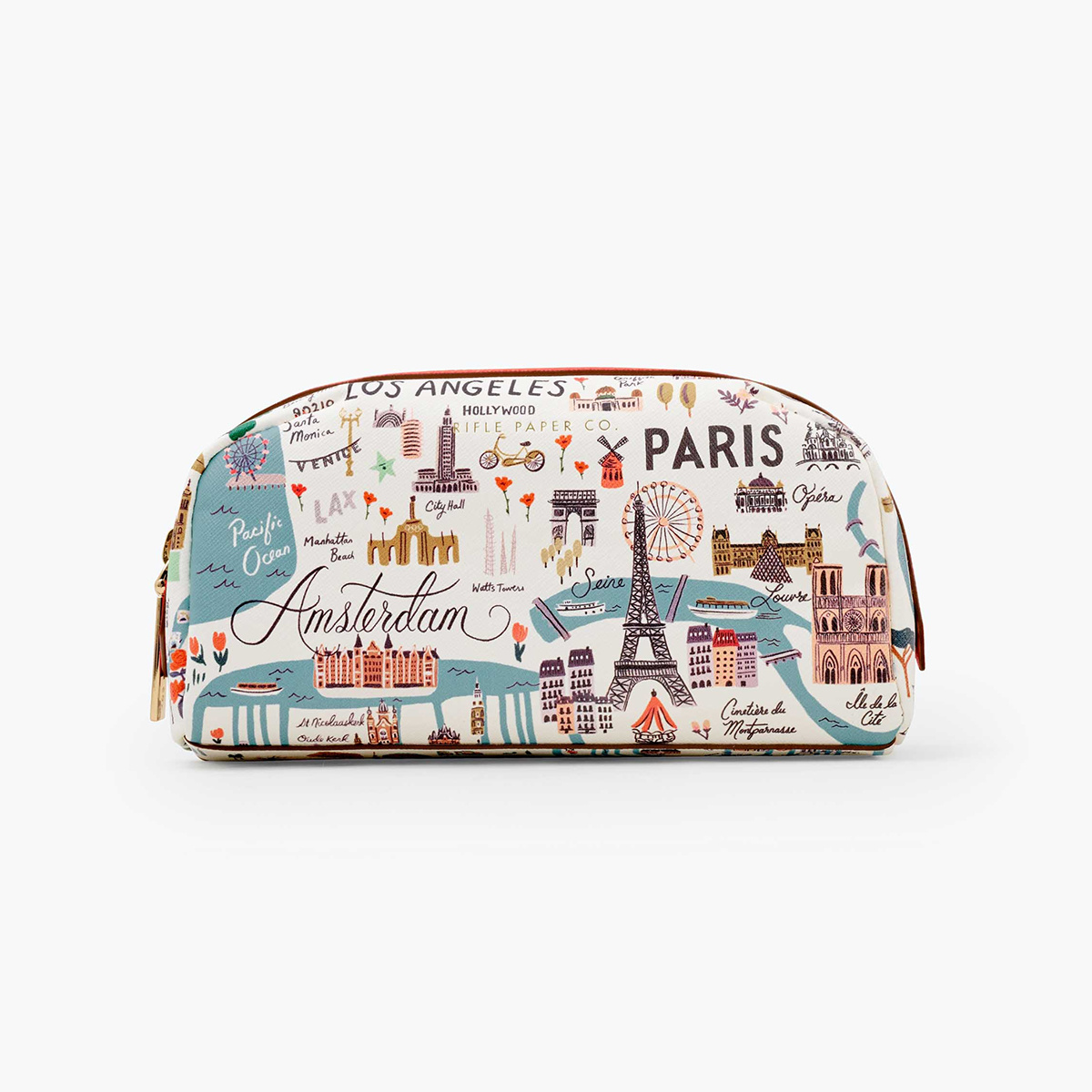 Rifle Paper Co - RP Rifle Paper Co - Bon Voyage Small Cosmetic Pouch