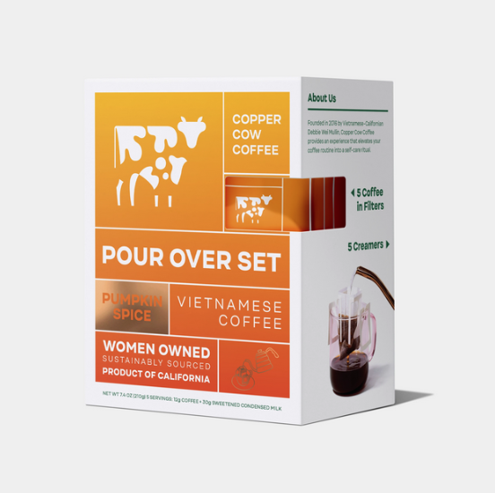 Copper Cow Coffee - CCC Pumpkin Spice Latte, Pack of 5