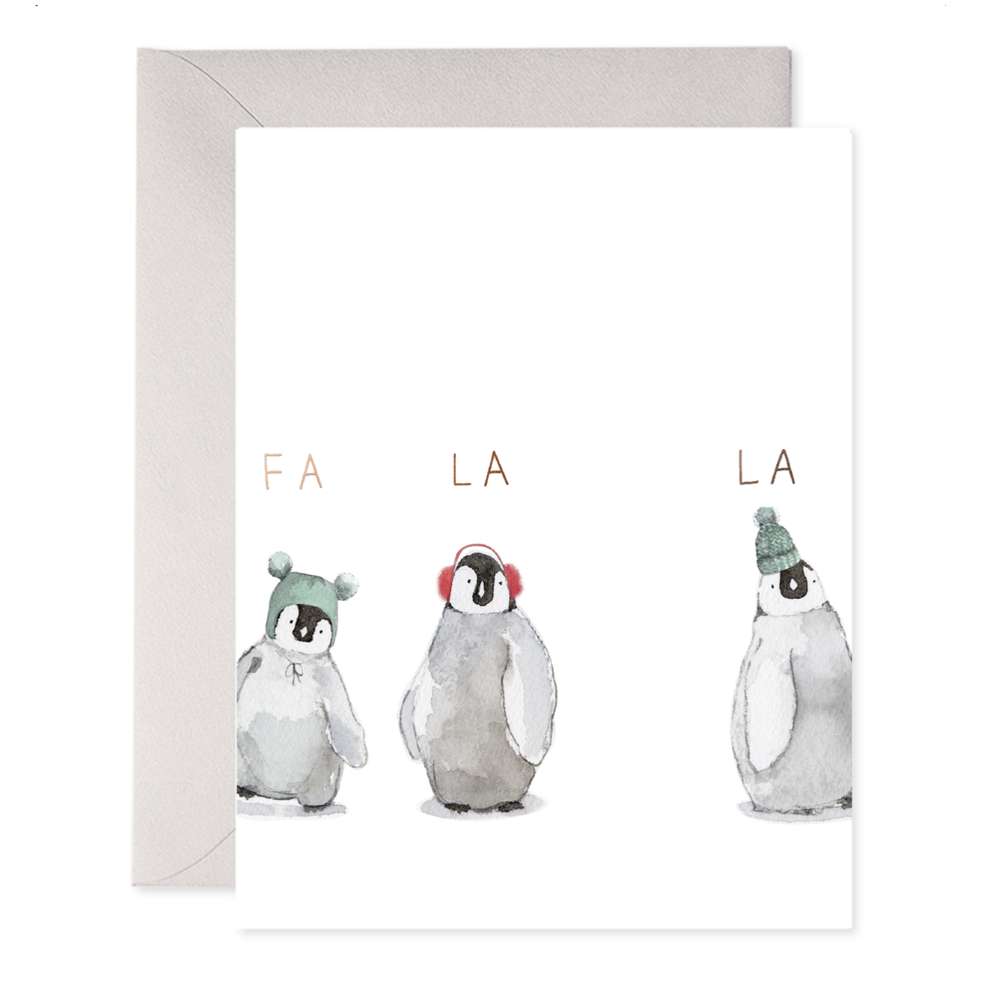 E. Frances Paper Studio - EF E. Frances - Cozy Penguin, Set of 6