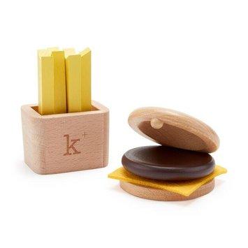 kiko+ & gg* - KGG Hamburger  & Fries Musical Play Set