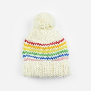 The Blueberry Hill - BH The Blueberry Hill - Reagan Rainbow Knit Hat