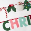 Meri Meri - MEM Festive Motif Merry Christmas Garland