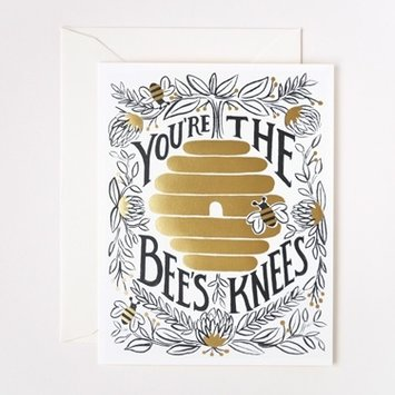 Rifle Paper Co RPGCMI0006 - you're the bees knees