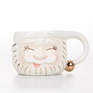 One Hundred 80 Degrees Sleepy Santa Mug