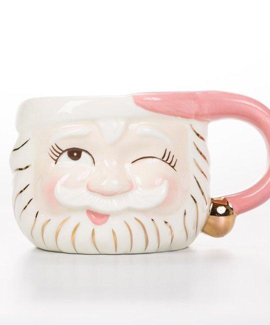 One Hundred 80 Degrees - 180 Pink Santa Mug