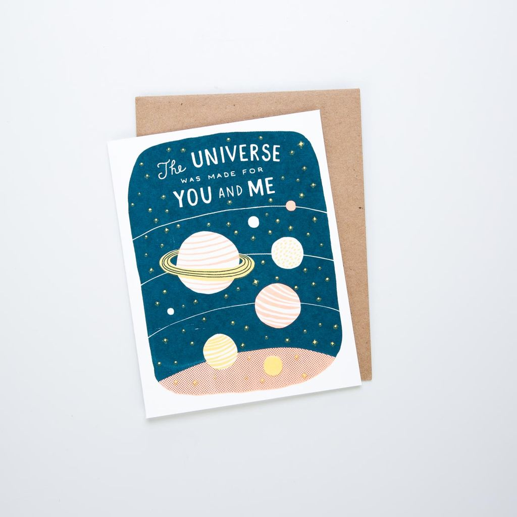 Lucky Horse Press LHPGCLO0006 - Universe for You + Me