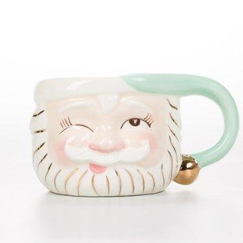 One Hundred 80 Degrees Mint Santa Mug