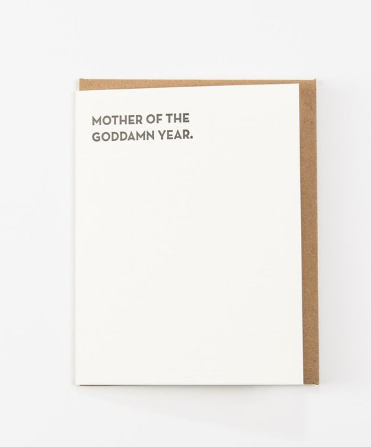 Sapling Press - SAP Mother of the Year Card