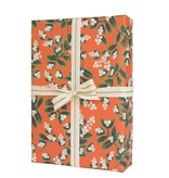 Rifle Paper Co. RPWPROHO - Mistletoe wrap roll (3 19.5x27 Inch sheets)