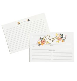 Rifle Paper Co. Peony Recipe Cards