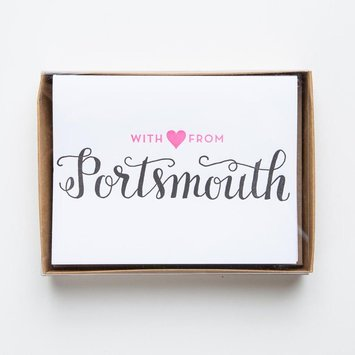 Parrott Design Studio Love from Portsmouth Noteset
