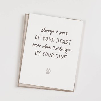 Ink Meets Paper - IMP Always a Part of Your Heart (Pet Sympathy) Card