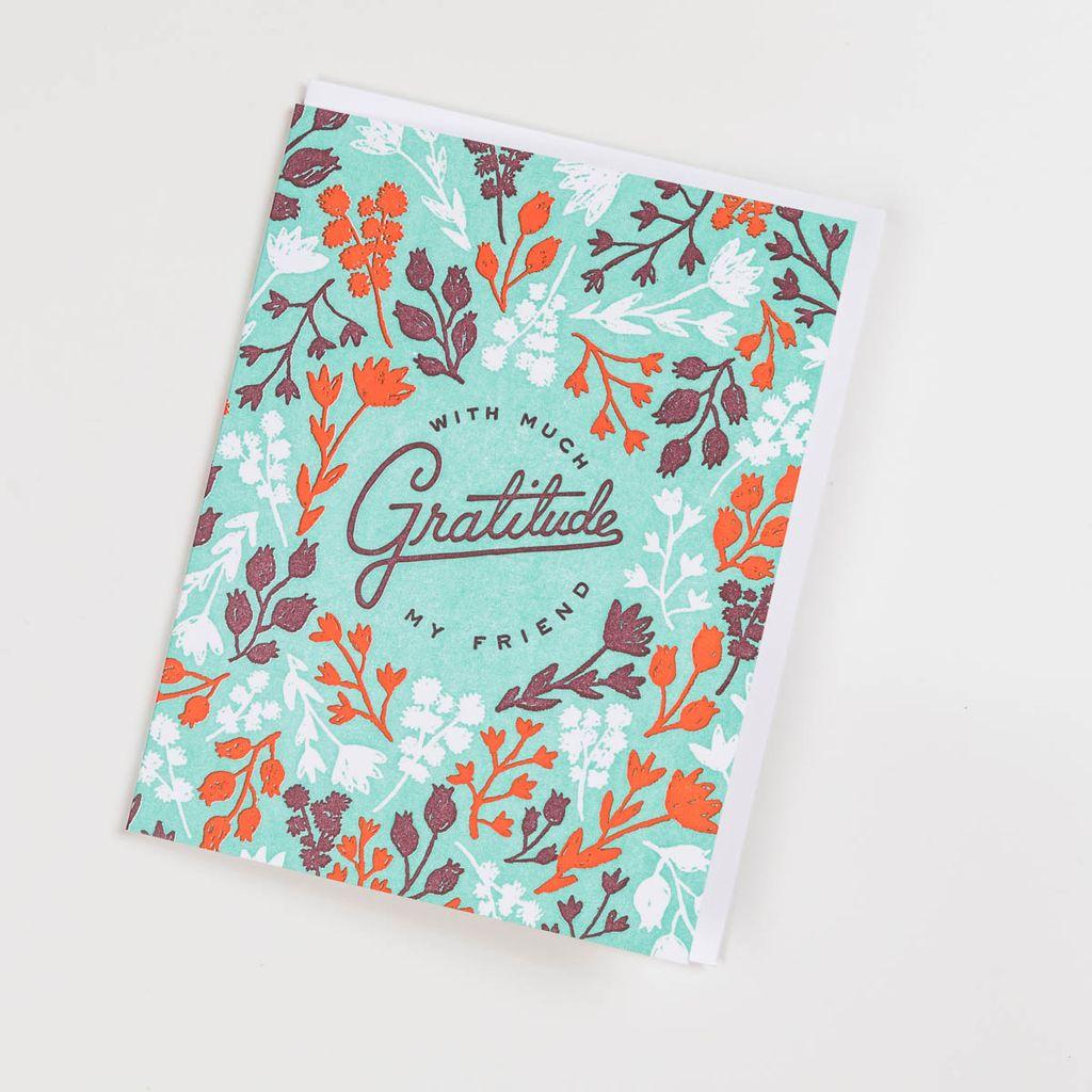 Hammerpress HAGCTY0010 - Floral Gratitude