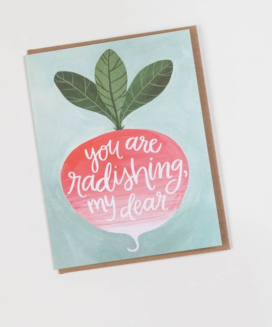 One Canoe Two Letterpress - OC OCGCLO0016 - Radishing Dear
