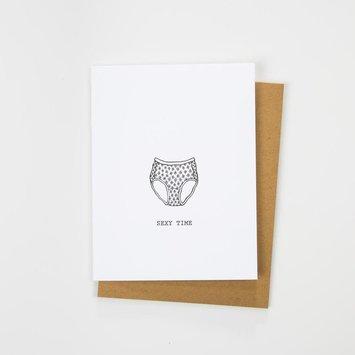 Hartford Prints! Sexy Time Card