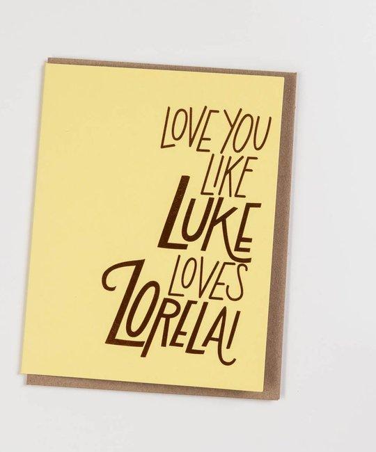 The Good Twin TGTGCLO0005 - Luke Loves Lorelai