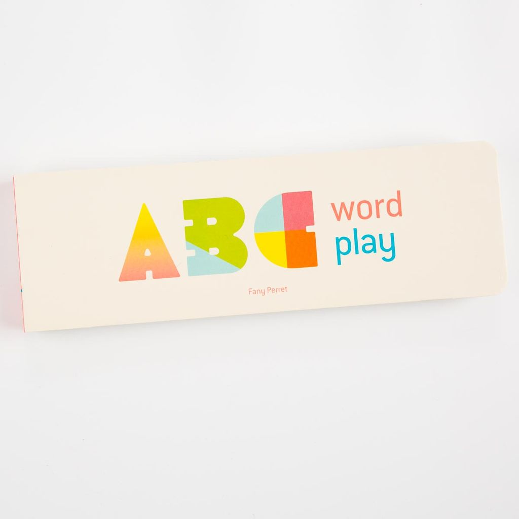 Chronicle Books ABC Word Play by Fany Perret