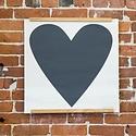 banquet atelier and workshop Black Heart Screen Print